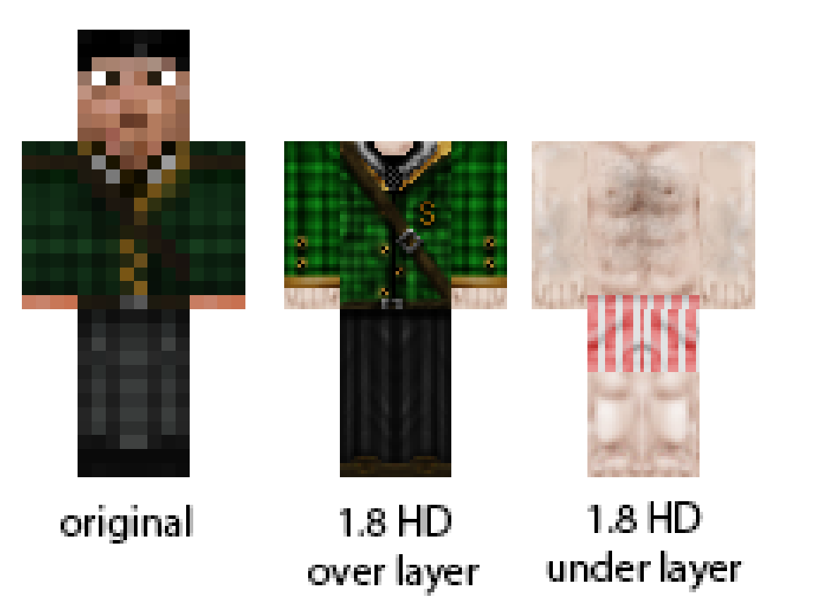 New Skins For WoodenAxe Community Forum - Skins para minecraft 1 8
